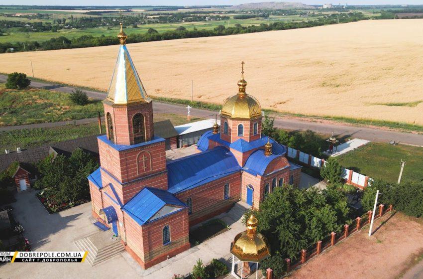 Введенский храм (п.Водянское, Доброполье)