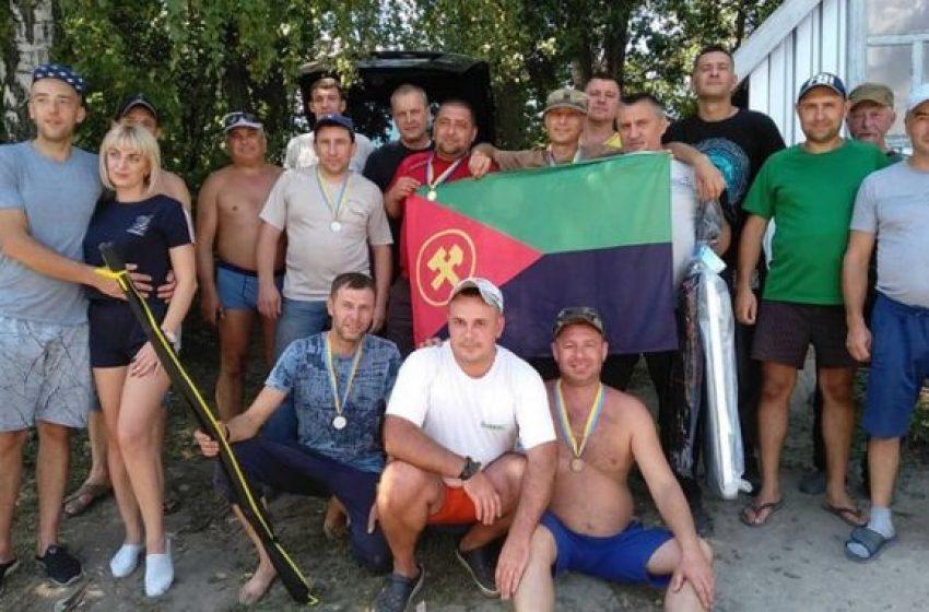 Члени Укрвуглепрофспілки шахти «Добропільська» стали учасниками турніру по КАРПФІШИНГУ + ФОТО