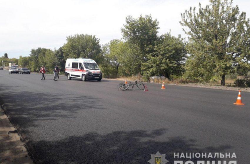 Под колесами «скорой» погиб велосипедист на Донетчине