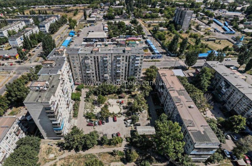 Сферические панорамы Доброполья: район Укртелекома
