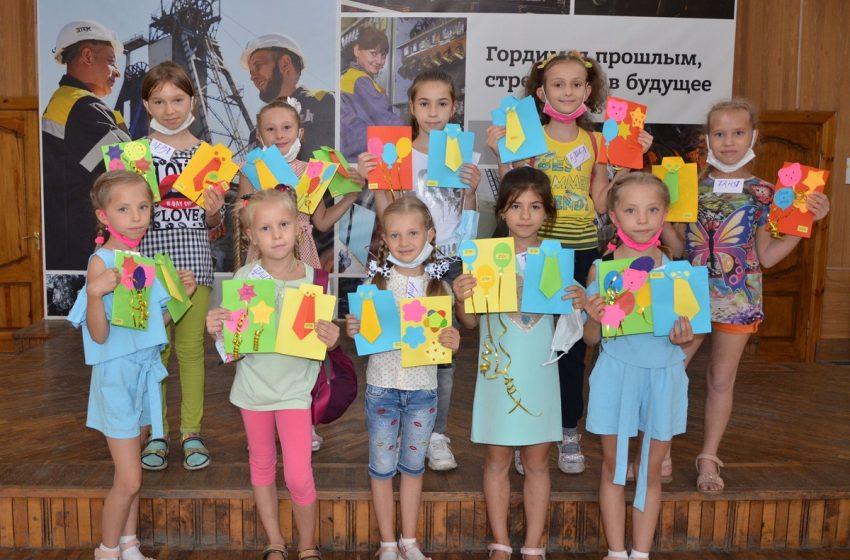 В ШУ Добропольское в канун главного праздника года – Дня шахтёра– решили помочь детям горняков поздравить своих пап и мам + ФОТО