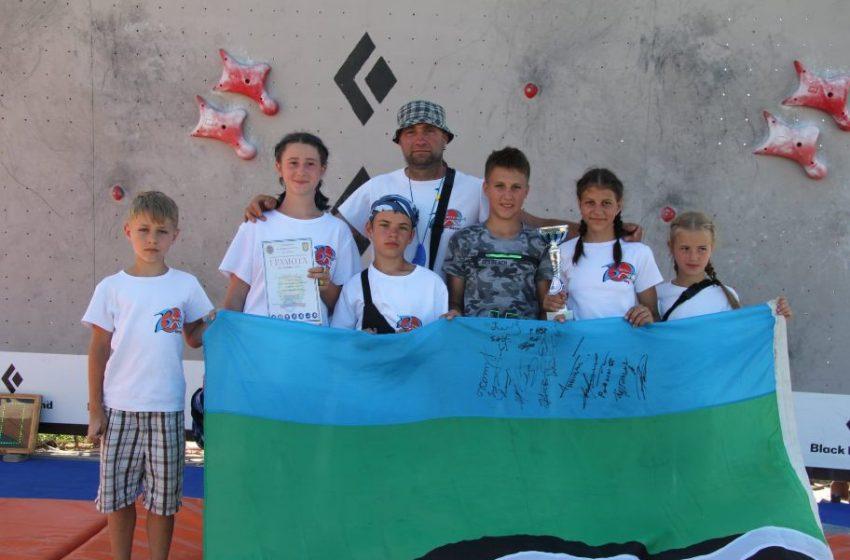 Юля ПОЛУПАНОВА здобула перемогу на чемпіонатi зі скелелазіння у Маріуполі