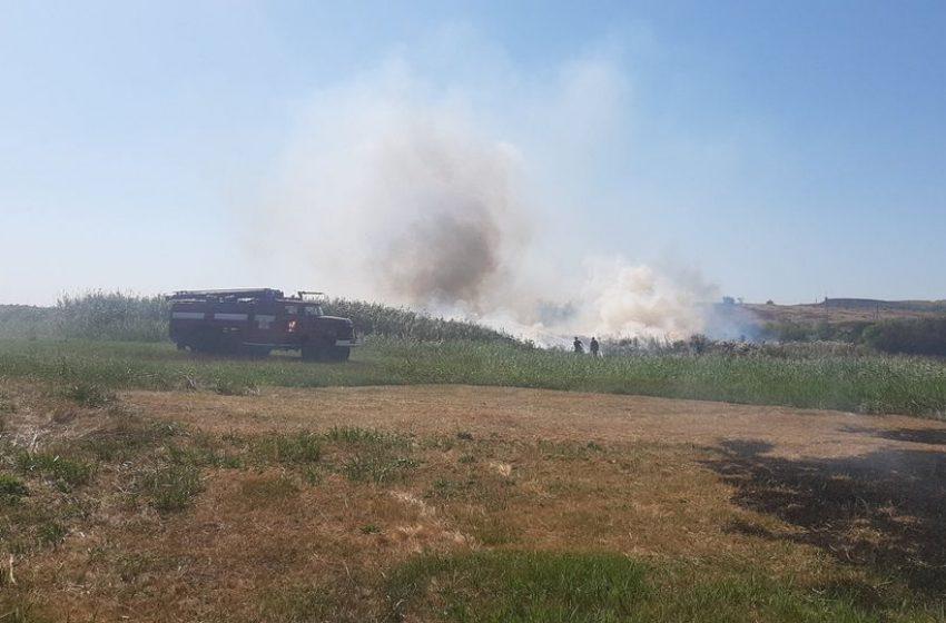 Пожежі на території Добропільського району