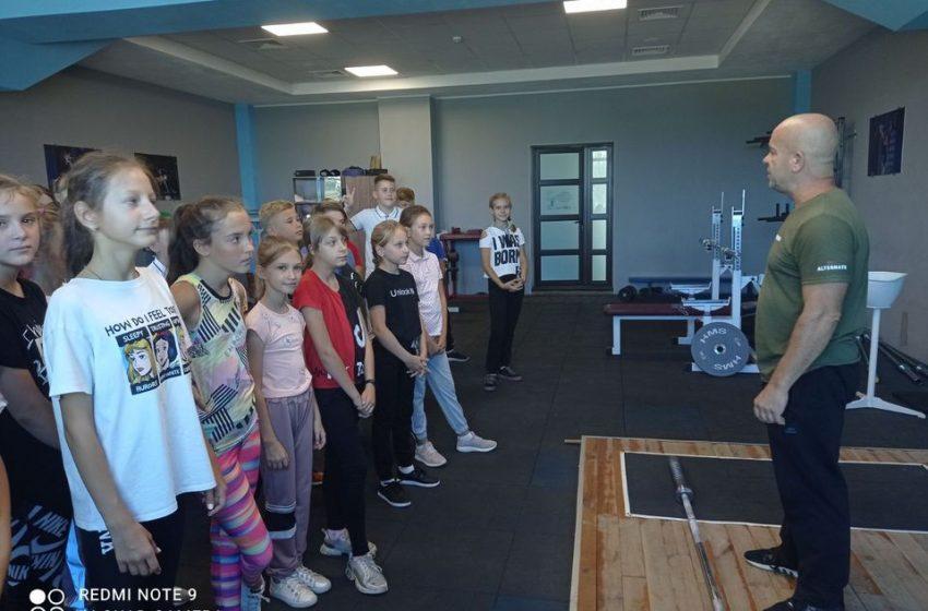 Во Дворце спорта г. Доброполье провели день открытых дверей + ФОТО
