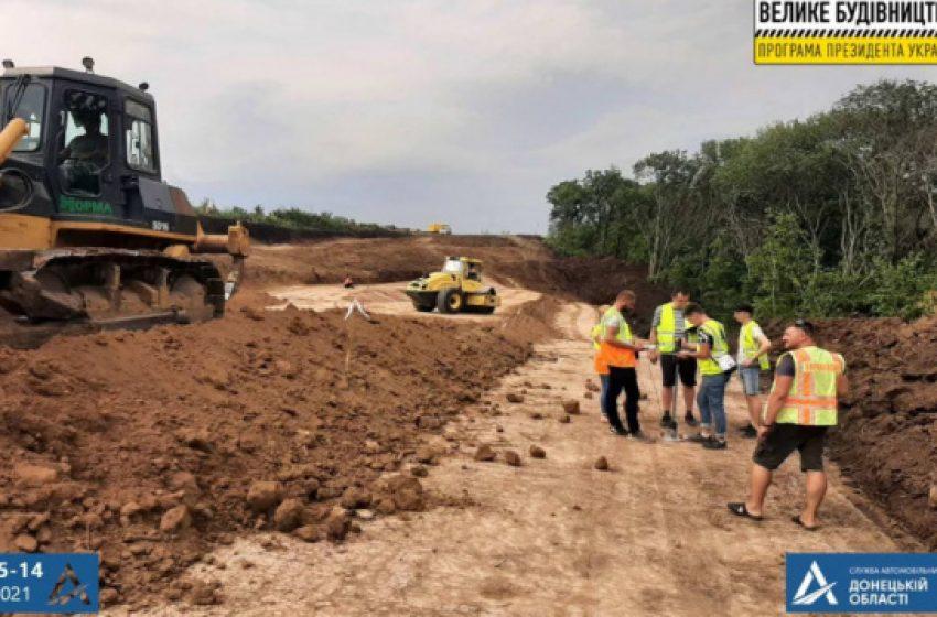 Продолжается капитальный ремонт автомобильной дороги Т-05-14 Доброполье – Лиман
