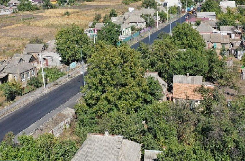 Как проходит ремонт дороги Т-05-14 между городами Доброполье и Краматорск